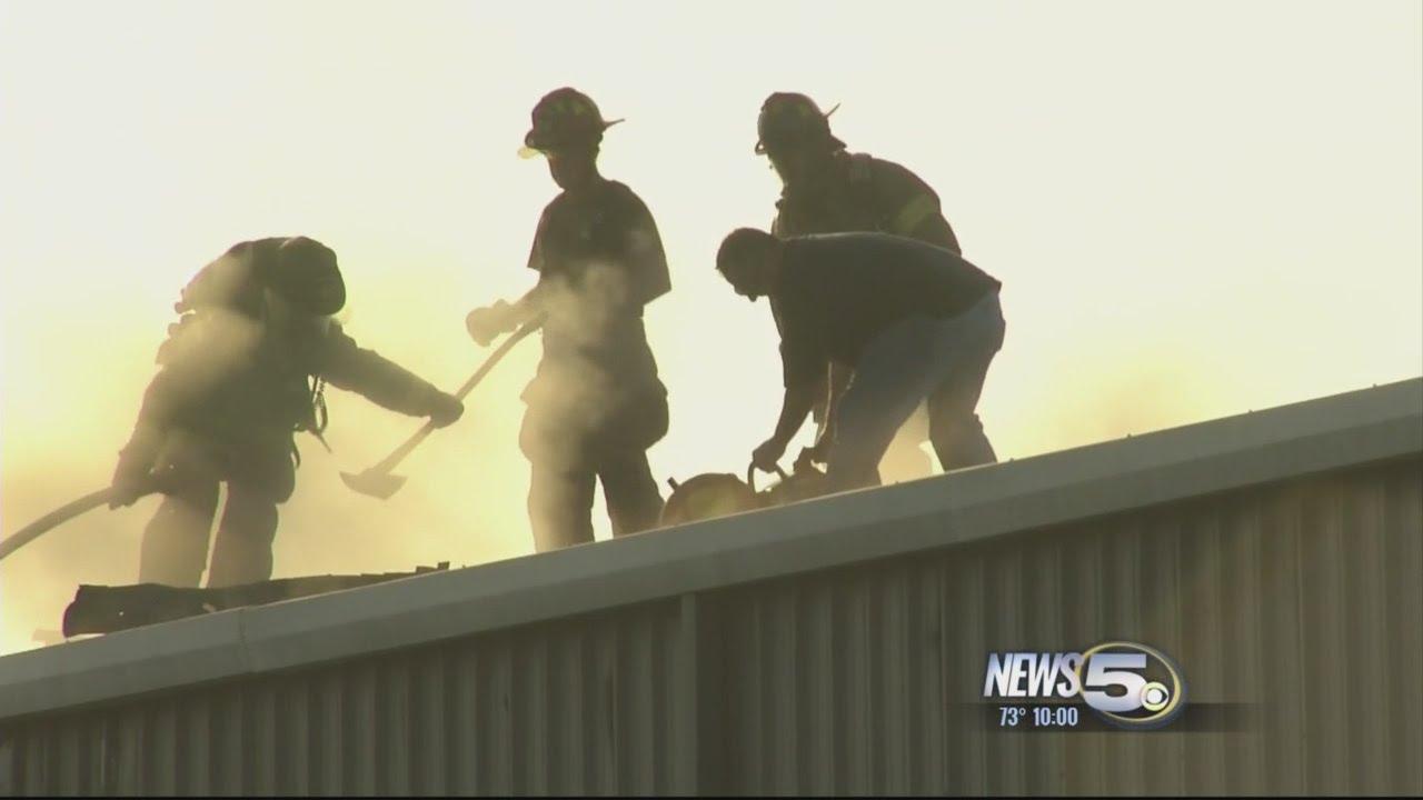 Breaking Bayou La Batre Church On Fire Firefighters Battling Blaze