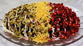 Такого рецепта салата нет в интернете Очень необычный салат ИДЕАЛЬНО БЫСТРО ВКУСНО И ПРОСТО