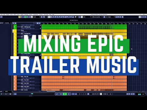 Mixing Epic Trailer Music in Cubase 10.5