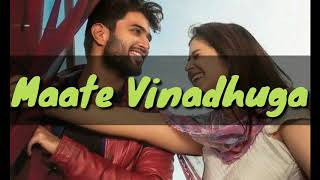 Maate Vinadhuga full song lyrics with English translation| Sid Sriram | Taxiwala | Vijay Devarakonda