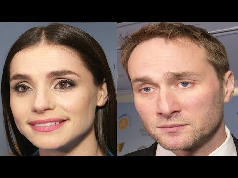 Oliver Chris & Charlotte Riley  RTS Programme Awards 2018