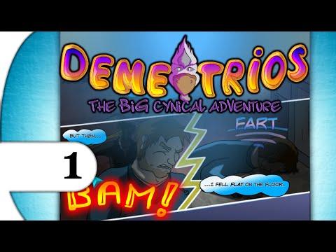 Demetrios - The BIG Cynical Adventure | walkthrough playthrough | PART 1