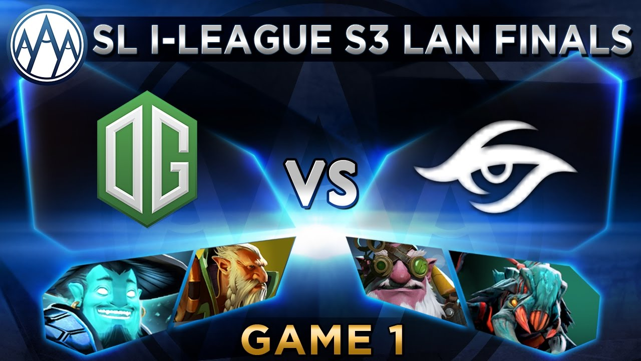 OG vs Secret Game 1 - SL i-League StarSeries S3 LAN Finals - @ODPixel @FoggedDota