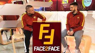 Face 2 Face: Nainggolan e Manolas si intervistano a vicenda!