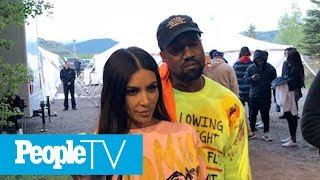 kanye west raps about kim kardashian west leaving him bipolar disorder in 7 track album peopletv