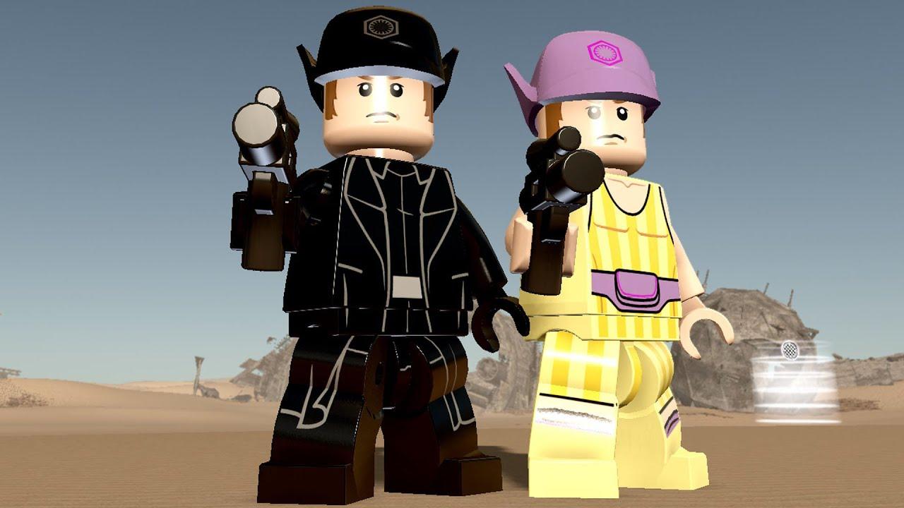 Lego Star Wars The Force Awakens General Hux Free Roam Gameplay Pc Hd 1080p60fps Youtube