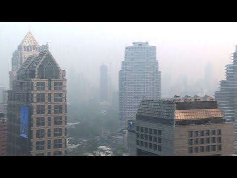 Thailand to make it rain as pollution chokes Bangkok