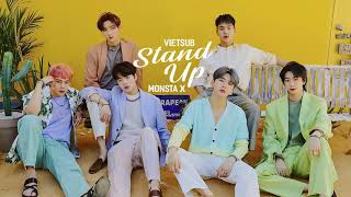 [Han/Rom/Viet] STAND UP - MONSTA X (몬스타엑스)