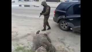 издевательства Азова над ополченцами. (шутка)