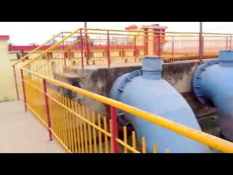 amazing video of water supply from ganga river to water canal . My beautiful  experience
