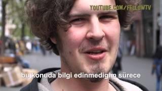 Türkiye'nin Avrupa birligi üyeligine nasil bakiyorsunuz? (Almanya sokak röportajı)