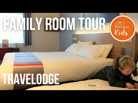 Tour Of Our Family Room At Travelodge