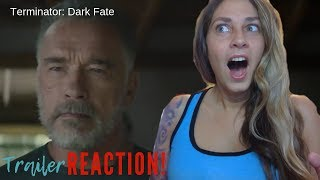 Terminator: Dark Fate Official Teaser Trailer (2019) Reaction!