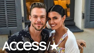 Derek Hough And Hayley Erbert Can't Stop Taking Photos Of Each Other On Sizzling Cannes Vacation