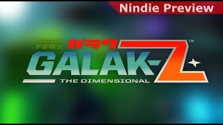 Nindie Preview: GALAK-Z [PC Version]