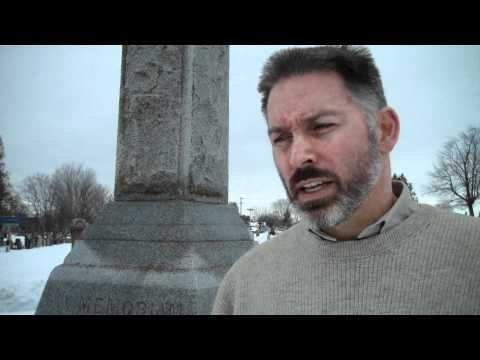 "Ottawa Historian discusses the military career of Frank ""one-eye"" McGee at the family plot"