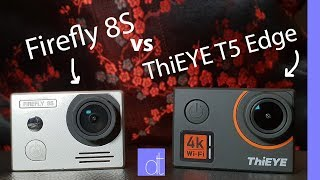 Firefly 8S vs. ThiEYE T5 Edge || Real World Use Compared