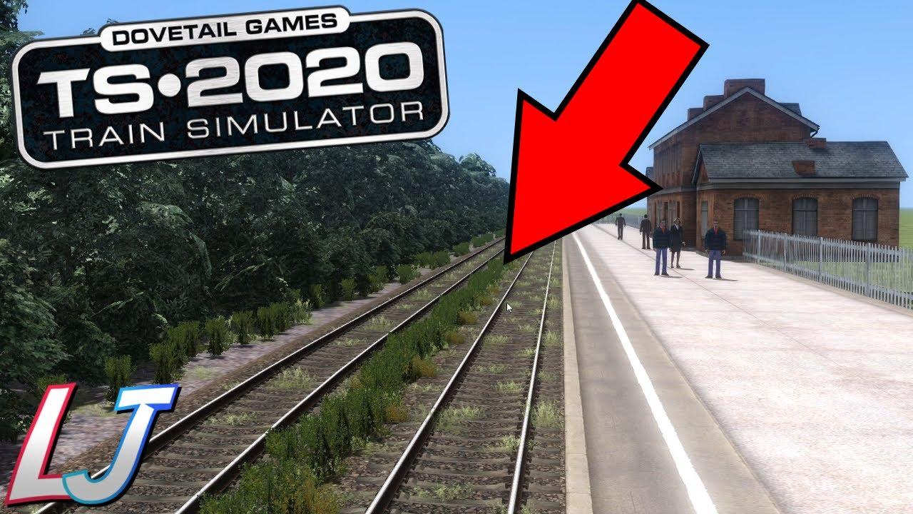 Train Simulator 2020 - Route Building Tutorial #2