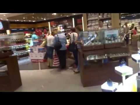 Aruna & Hari Sharma At Varna Airport Duty Free Shopping Area, Bulgaria May 10, 2015