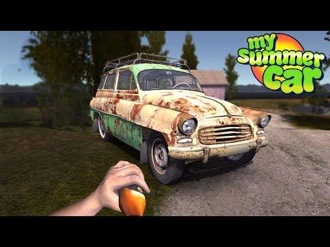 My Summer Car - STEALING NEW CAR