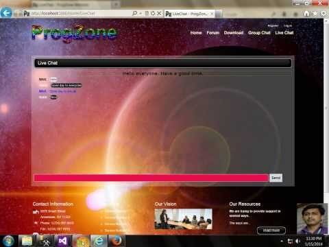 ProgZone : Live Chat & Group Chat