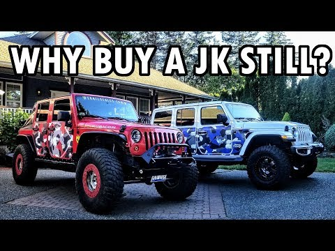 Why buy a Jeep JK and not a JL ?