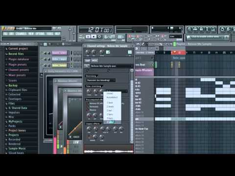 Lil Wayne - Believe Me Ft. Drake Instrumental Fl Studio Tutorial + FLP + MP3