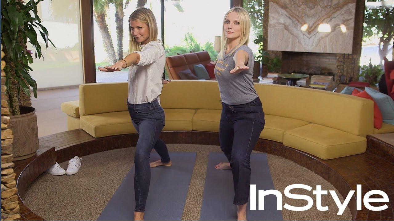 paltrow yoga Gwyneth