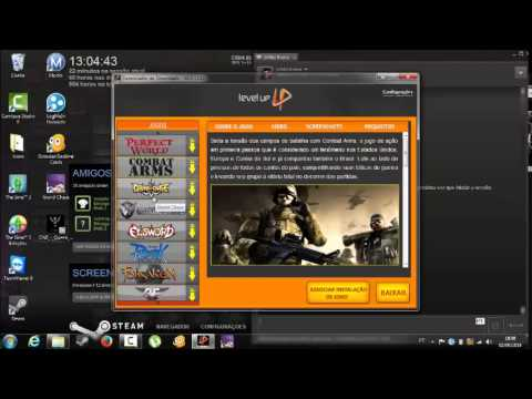 gerenciador de downloads level up baixaki