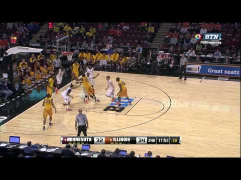 The Best of Gus: Day 1 of the 2013 Big Ten Basketball Tournament