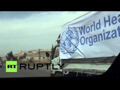 Syria: WHO delivers vital medical supplies to war-torn Moadamieh