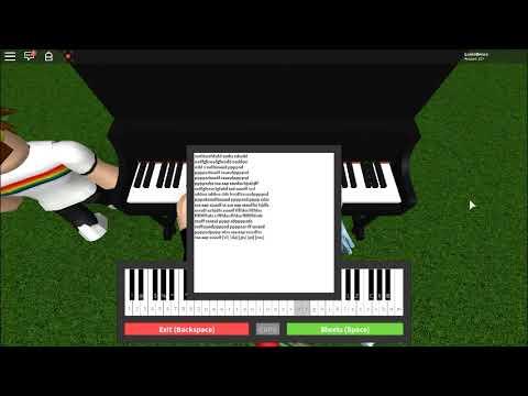 Girls Like You - Maroon 5 - {ROBLOX Virtual Piano}