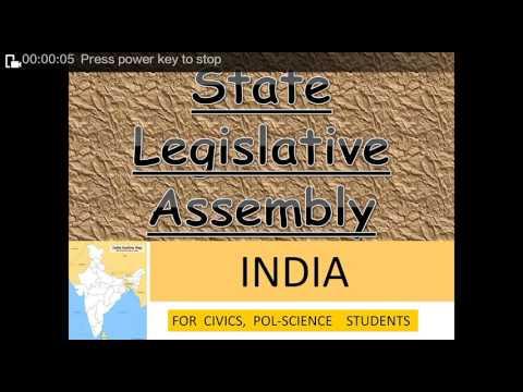 State legislative assembly
