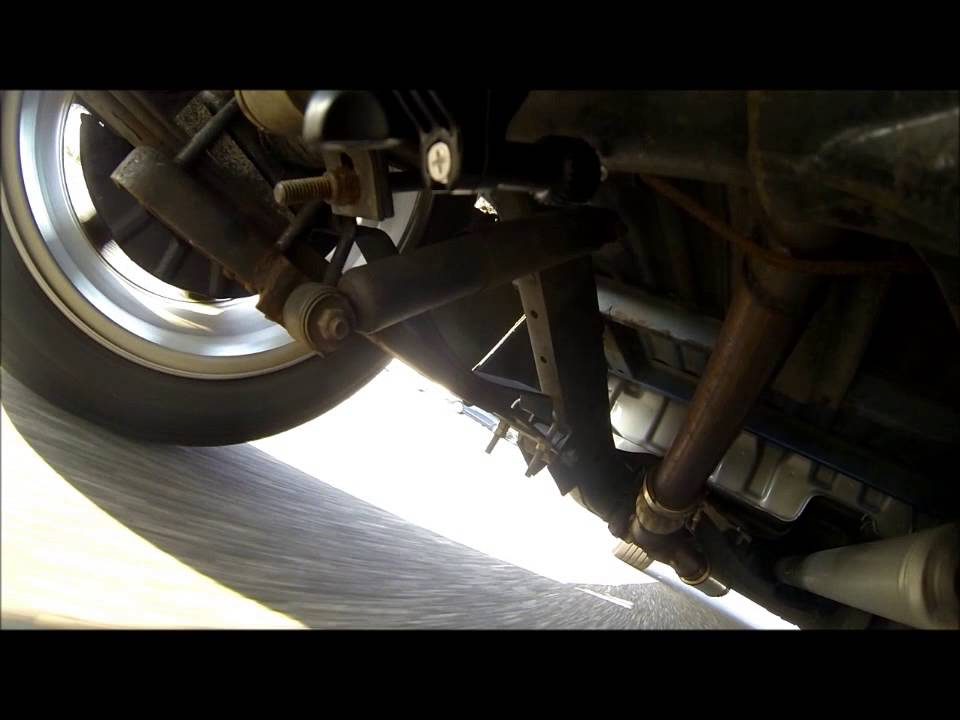 nissan hardbody front and rear suspension - YouTube