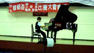賴續東 彰化縣橋頭國小 哈察都量 小奏鳴曲 第三樂章 Aram Khachaturian Sonatina 3