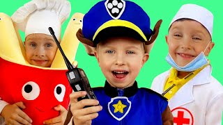 Professions Song & Jobs Career  - Educational Children Song by iFinger