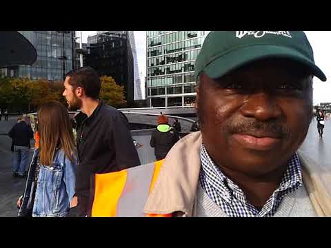 London Underground Cleaners protest