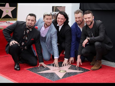 Watch: NSYNC recieve Star of Hollywood's Walk of Fame (VIDEO)