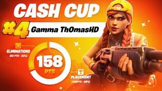 SOLO CASH CUP 4TH PLACE   Th0masHD