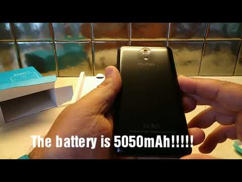 Unboxing of the M-net Power 1 smartphone
