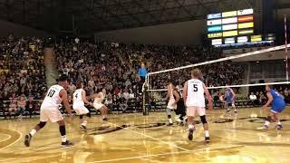 Sets 1-2: UCLA vs LBSU MVB (2/17/18)