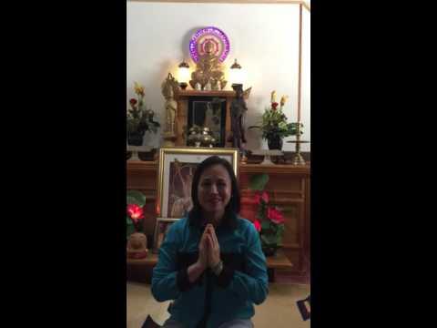 VIETNAMESE ARTIST THANH TUYEN & 64TH BIRTHDAY PHRA AJAHN YANTRA AMARO 10-14-2015