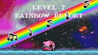 Kirby: Nightmare in Dream Land - Level 7 Rainbow Resort + Final Boss - No Damage 100% Walkthrough