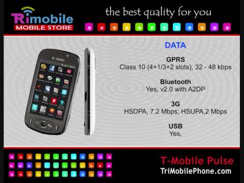 T-Mobile Pulse Mobile Phone Specification, Features and Slide show
