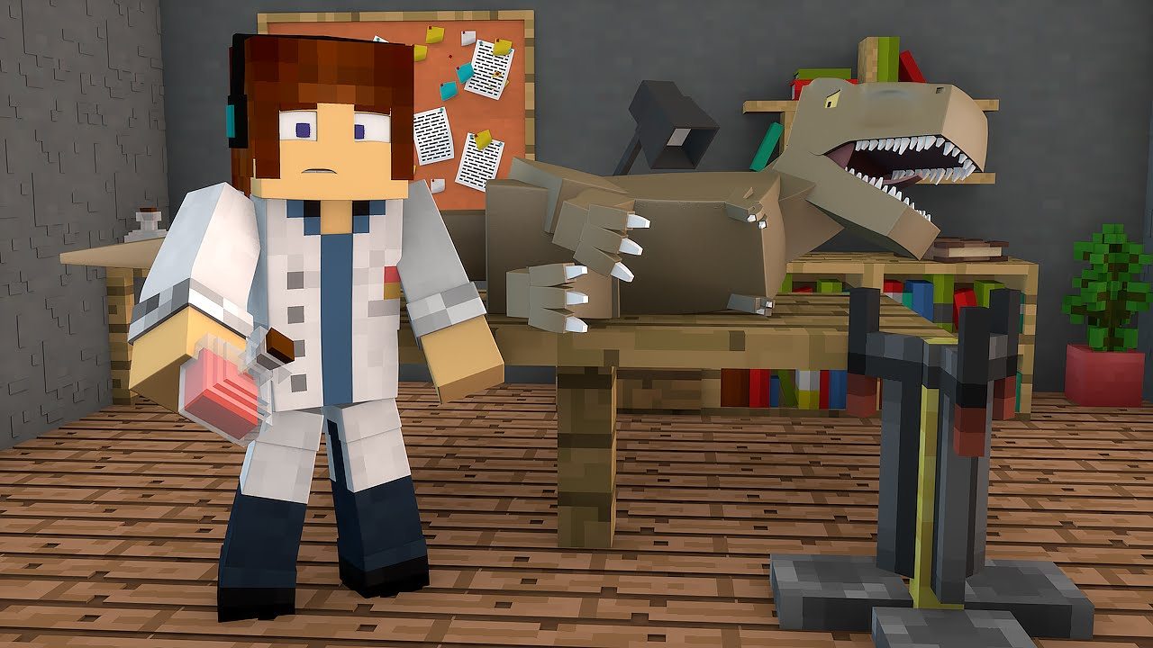Minecraft dinossauro doente ark craft survival 06 for The ark of craft