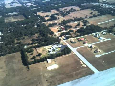 Flying Over John Travoltau0027s House And Jumbolair Ocala Florida