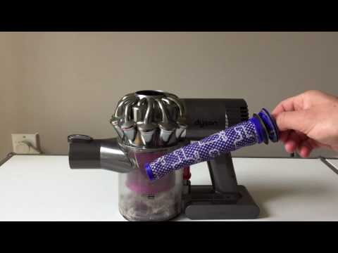 How to clean the filter of a Dyson V6 or DC59 cordless vacuum
