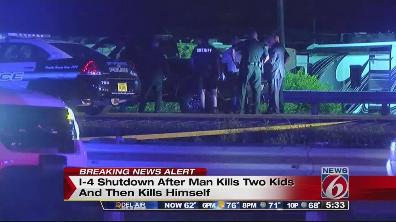 Man kills wife, 2 children, self in Seminole County