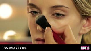 SOHO Silk Makeup Brush Collection - Foundation Brush Thumbnail