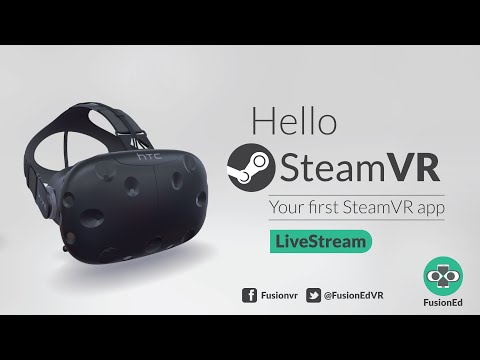Hello SteamVR! Creating our first Vive/Oculus experience